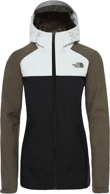 The North Face Stratos Giacca Donna, tnf blacknew taupe greentin grey